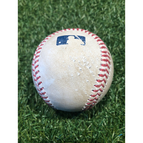 Photo of Game-Used Baseball: Luis Robert 11th Career Homerun (9/3/20 CWS @ KC)