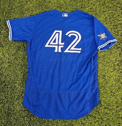 Photo of CHARITY AUCTION: Authenticated Team Issued #42 Jersey: Shun Yamaguchi (2020 Season). Size 50.