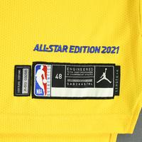 Stephen Curry - Game-Worn 2021 NBA All-Star Jersey - 1st Half - Scored 28 Points