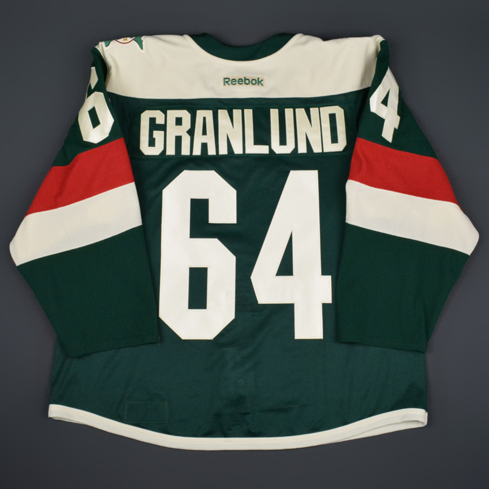 check out fe683 030cc Mikael Granlund - Minnesota Wild - 2016 NHL Stadium Series ...