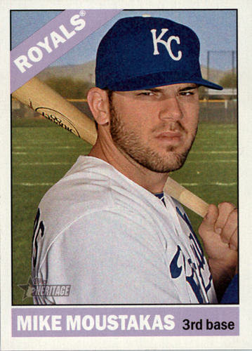 Photo of 2015 Topps Heritage #383 Mike Moustakas