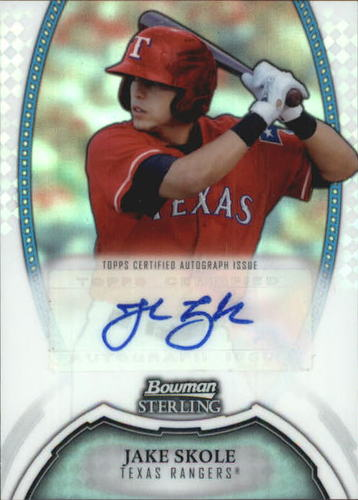 Photo of 2011 Bowman Sterling Prospect Autographs Refractors #JK Jake Skole