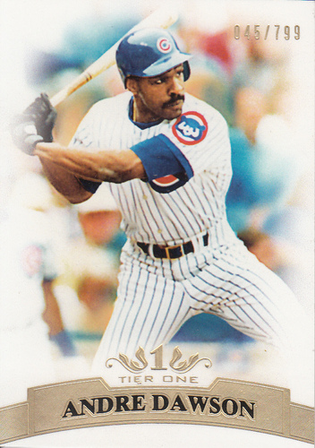 Photo of 2011 Topps Tier One #68 Andre Dawson