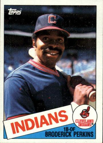 Photo of 1985 Topps #609 Broderick Perkins
