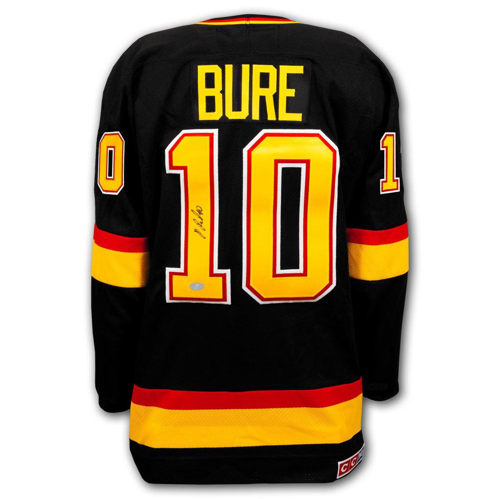 Pavel Bure Vancouver Canucks CCM Autographed Jersey