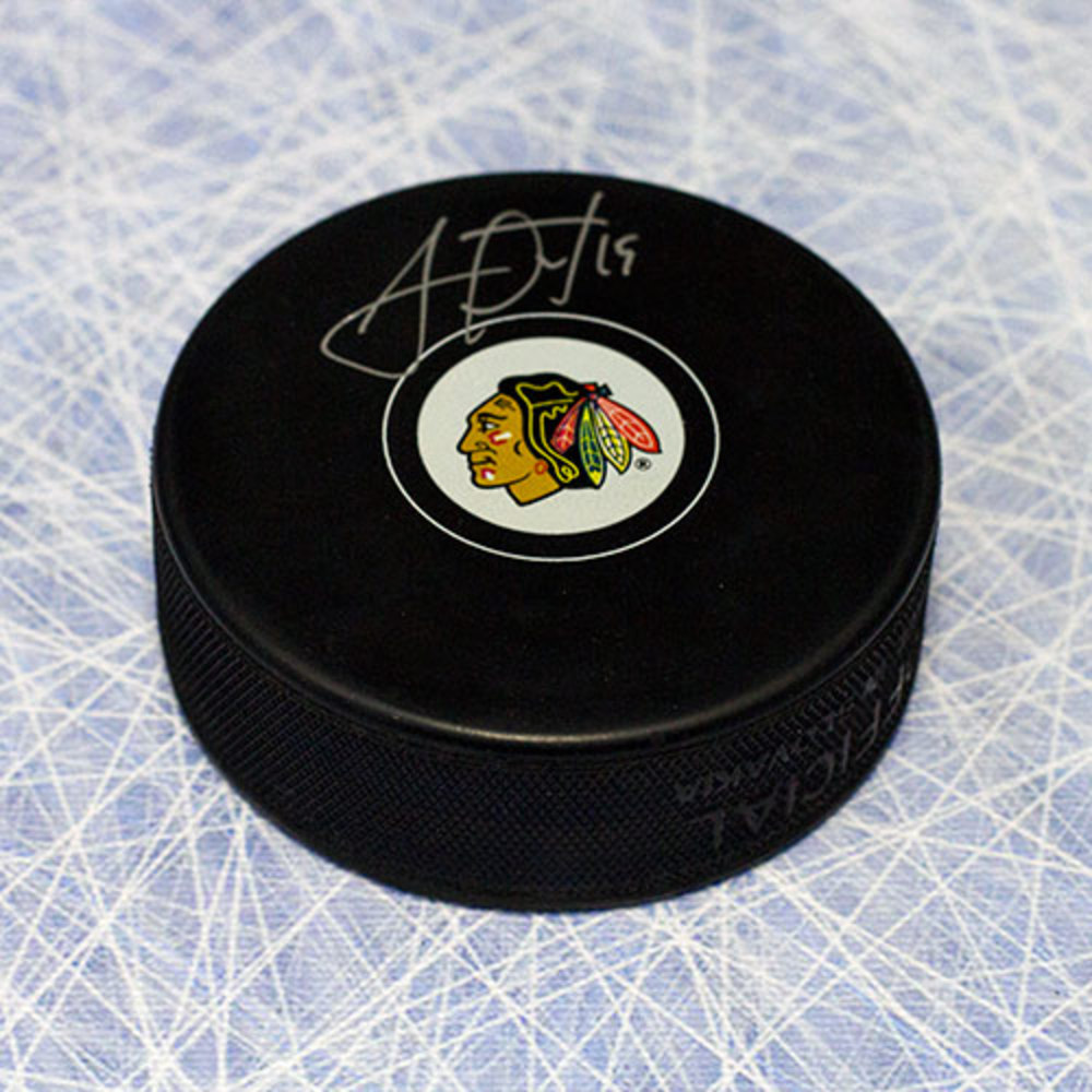 Jonathan Toews Chicago Blackhawks Autographed Hockey Puck