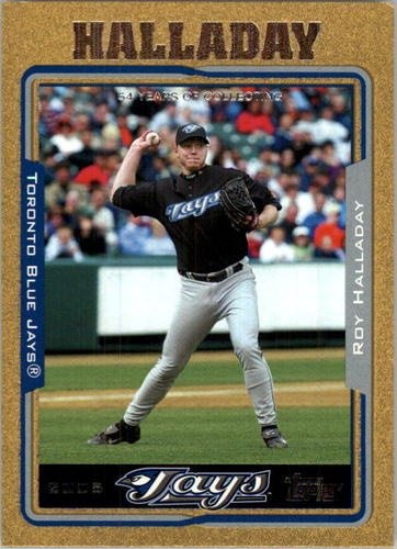 Photo of 2005 Topps Gold #19 Roy Halladay