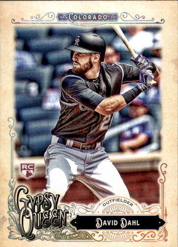 Photo of 2017 Topps Gypsy Queen #19A David Dahl Rookie Card