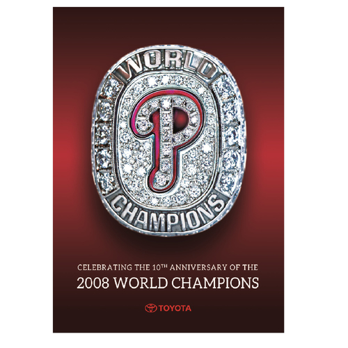Photo of Philadelphia Phillies 2008 World Champions Commemorative Book
