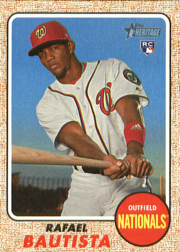 Photo of 2017 Topps Heritage #583 Rafael Bautista RC