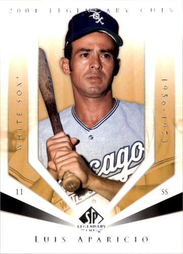 Photo of 2004 SP Legendary Cuts #75 Luis Aparicio