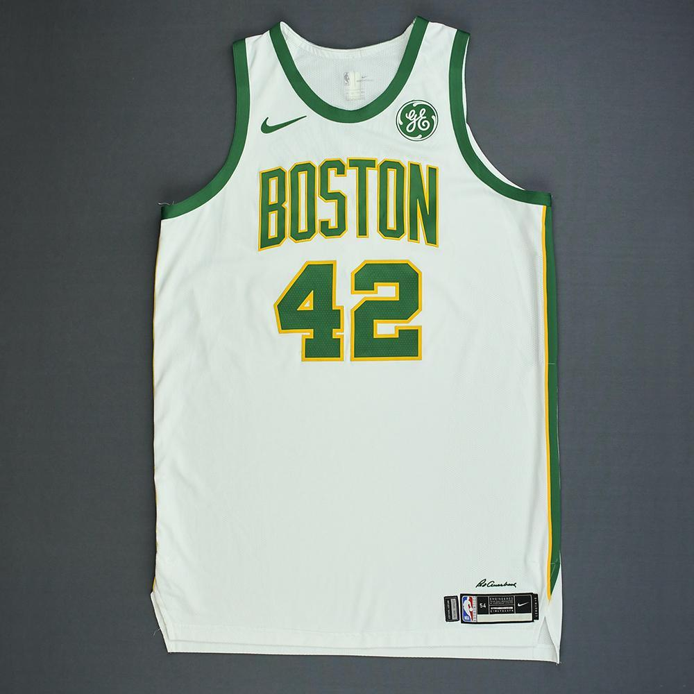 reputable site f7c59 895f0 Al Horford - Boston Celtics - Game-Worn City Edition Jersey ...