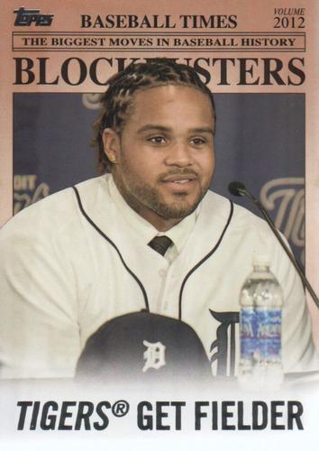 Photo of 2012 Topps Update Blockbusters #BB10 Prince Fielder