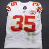 NFL - Chiefs Charvarius Ward Signed Historic MNF Game Used Jersey (11/19/18) size 40