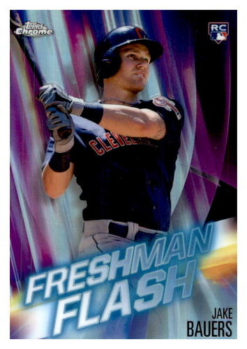 Photo of 2019 Topps Chrome Freshman Flash #FF5 Jake Bauers
