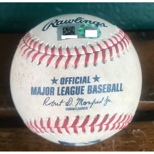 Photo of Cardinals Authentics: Game Used Pitched Baseball by Dakota Hudson to Jake Lamb and Nick Ahmed *Lamb Strikeout, Ahmed Ball*