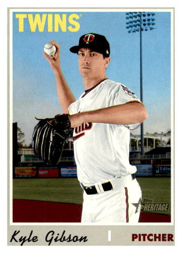 Photo of 2019 Topps Heritage #661 Kyle Gibson