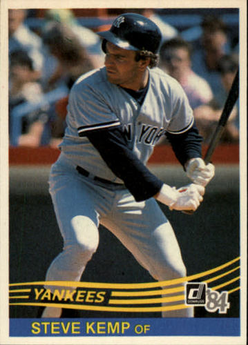 Photo of 1984 Donruss #469 Steve Kemp