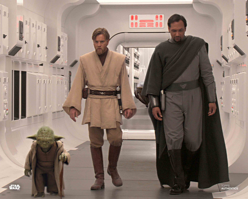 Obi-Wan Kenobi, Yoda and Bail Organa