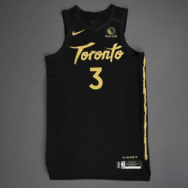 Image of OG Anunoby - Toronto Raptors - Christmas Day' 19 - Game-Worn City Edition Jersey