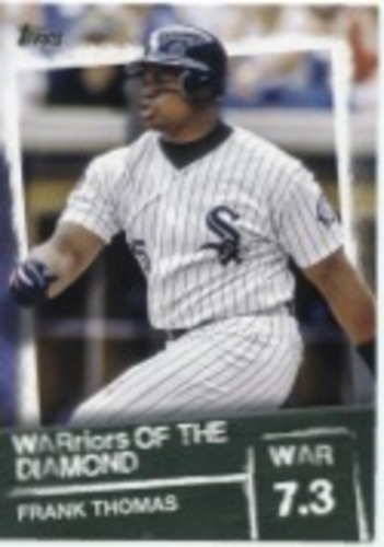 Photo of 2020 Topps Warriors of the Diamond #WOD44 Frank Thomas