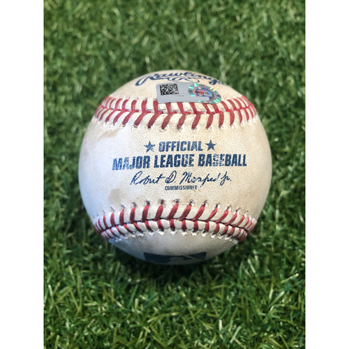Photo of Game-Used Baseball: Salvador Perez 156th Career Homerun (9/13/20 PIT @ KC)