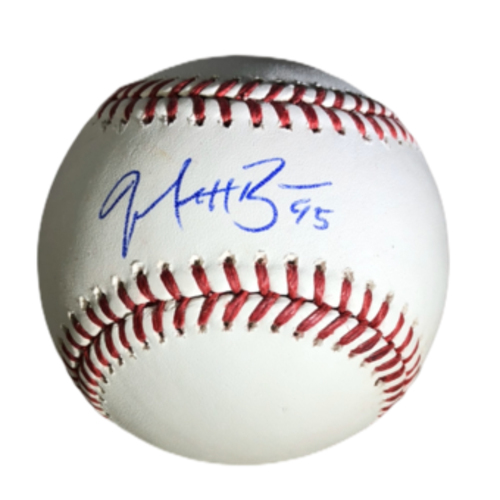Photo of Matt Beaty Authentic Autographed Baseball