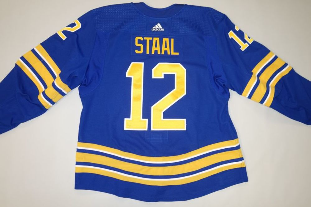 Eric Staal 2020-21 Buffalo Sabres Set 1 Home Jersey