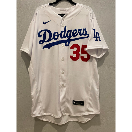 Photo of Cody Bellinger Authentic Game Used Jersey