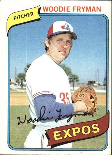 Photo of 1980 Topps #607 Woodie Fryman