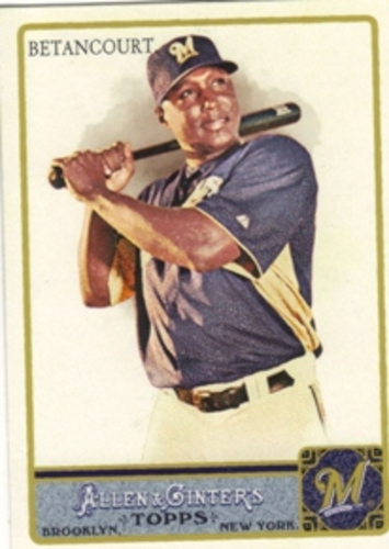 Photo of 2011 Topps Allen and Ginter #349 Yuniesky Betancourt SP