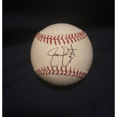 Braves Charity Auction - Jace Peterson Autographed Baseball