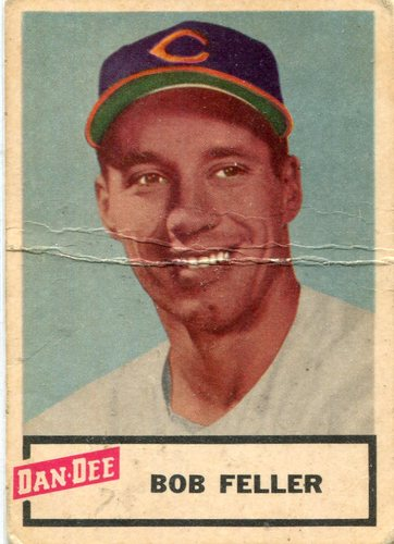 Photo of 1954 Dan-Dee #6 Bob Feller -- Hall of Famer