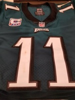 CRUCIAL CATCH - EAGLES CARSON WENTZ GAME WORN JERSEY (OCTOBER 8, 2017)
