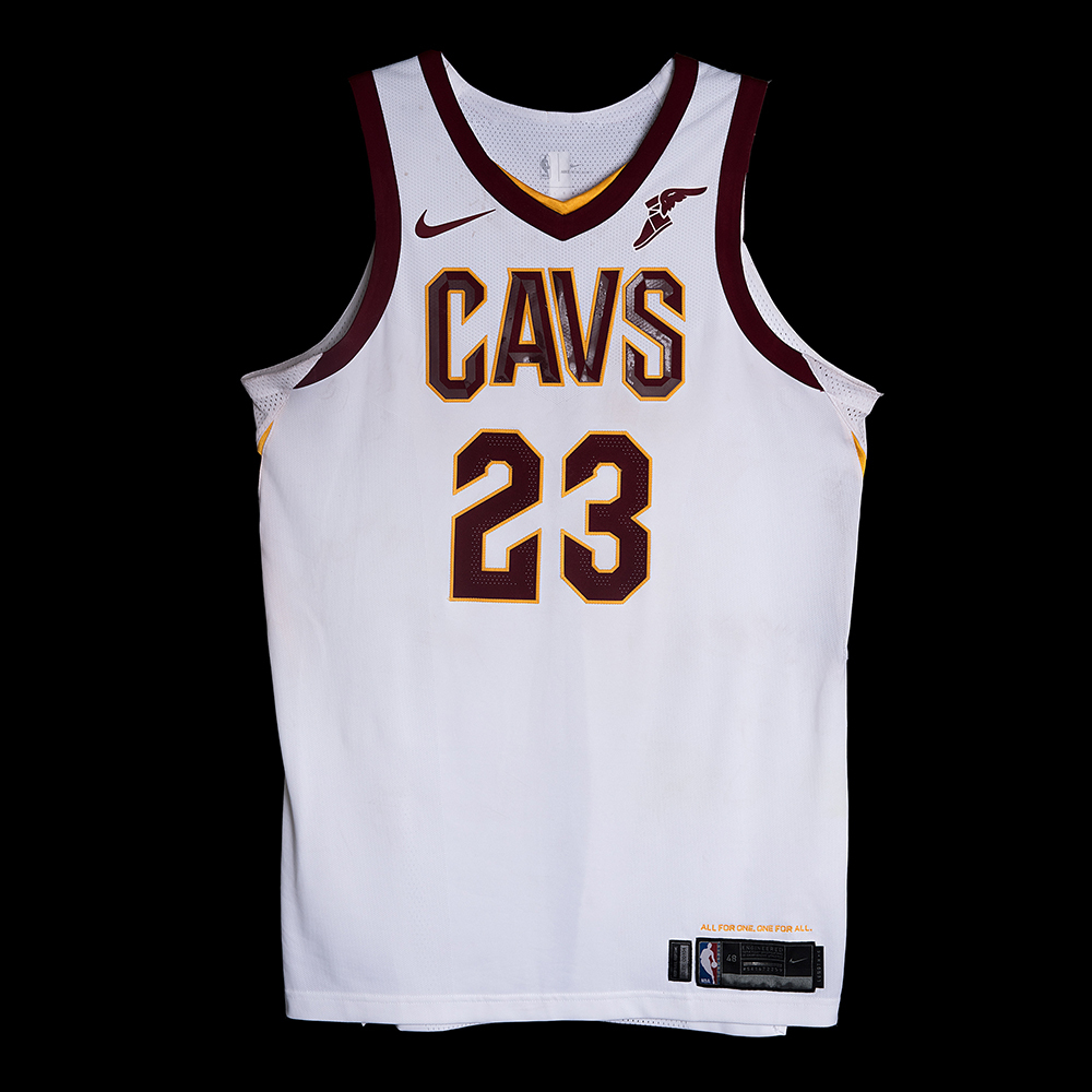 4439a91f2 LeBron James - Cleveland Cavaliers - Opening Night Game-Worn Jersey Charity  Auction - OneAmericaAppeal