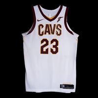 LeBron James - Cleveland Cavaliers - Opening Night Game-Worn Jersey Charity Auction - OneAmericaAppeal.org - Recorded a Double-Double
