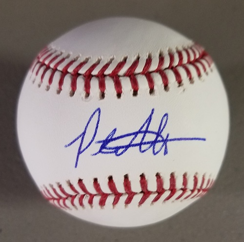 Photo of Peter Alonso Autographed Baseball