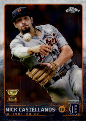 Photo of 2015 Topps Chrome #63 Nick Castellanos
