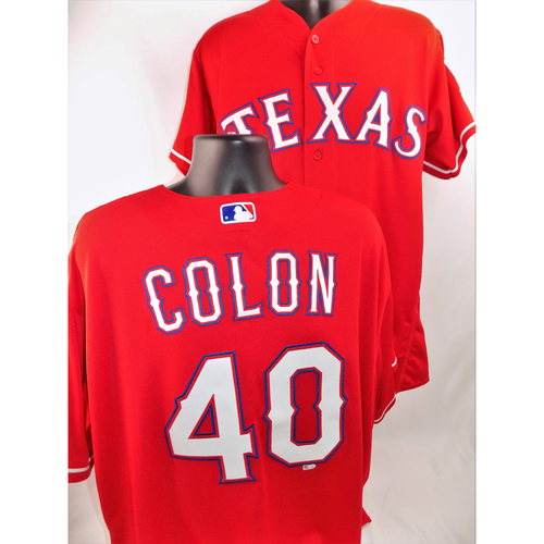 Photo of Bartolo Colon Game-Used Jersey - Worn August 13, 2018 vs. Arizona Diamondbacks (Earned Career Win No. 247) - Size 56