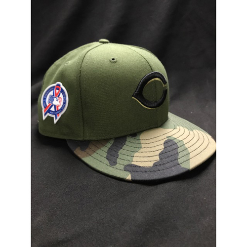 Photo of Freddie Benavides - Game-Used - Military Appreciation Hat (Worn: 2018)