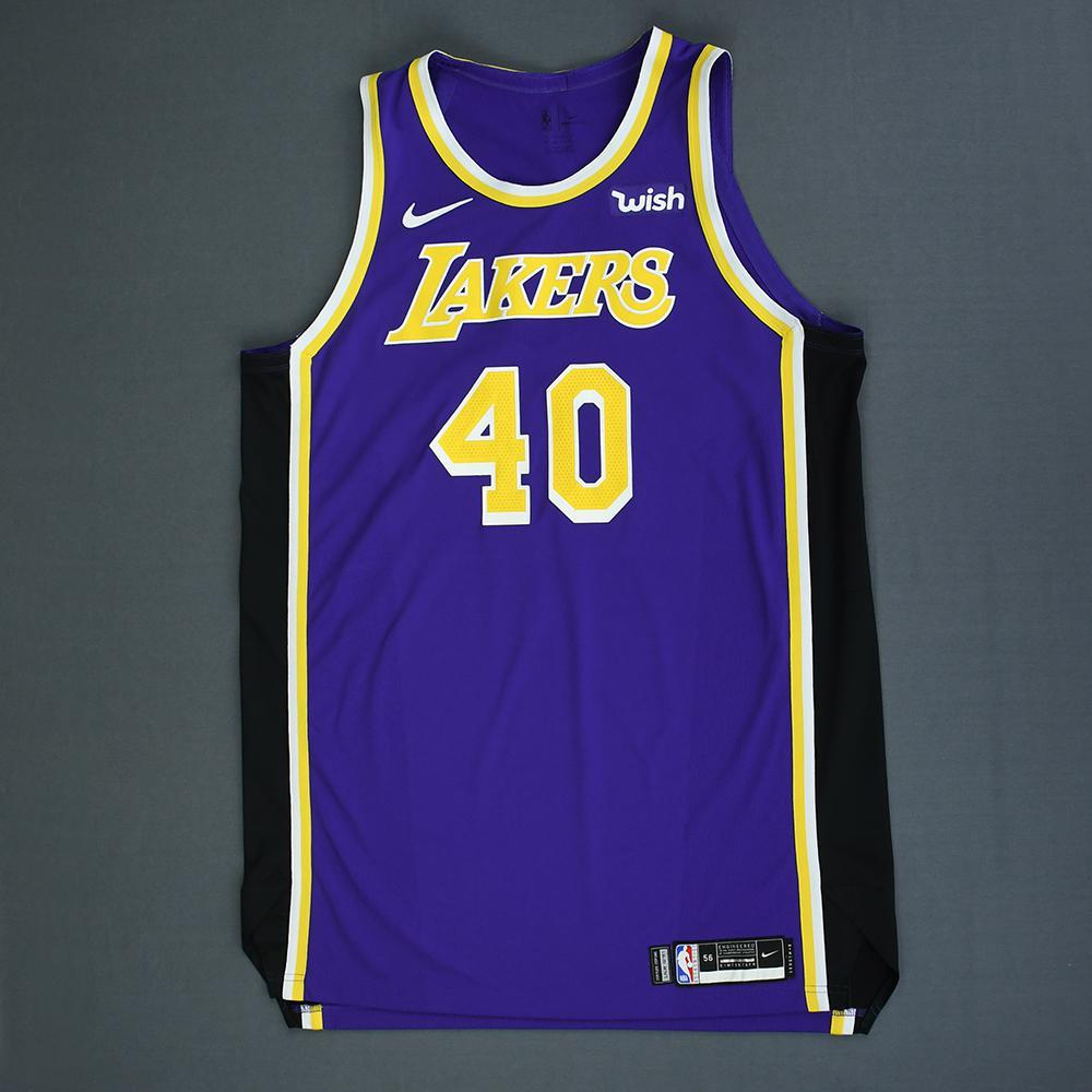 4b06a648f Ivica Zubac - Los Angeles Lakers - Game-Worn Statement Edition Jersey -  2018-