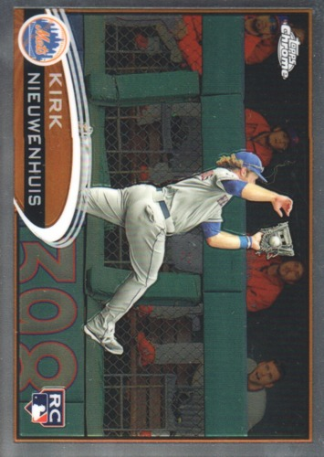 Photo of 2012 Topps Chrome #192 Kirk Nieuwenhuis RC