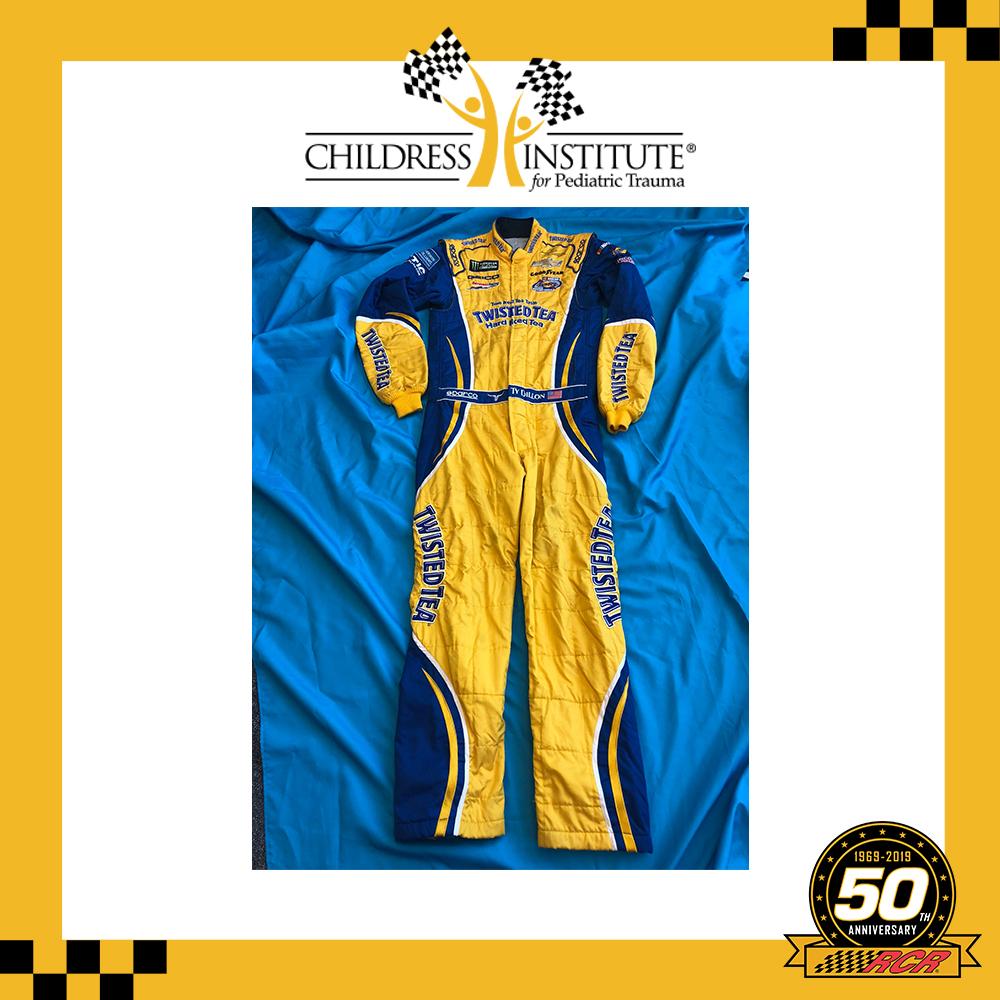RCR 50th Ty Dillon Race-worn Firesuit