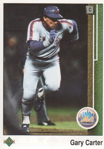 Photo of 1989 Upper Deck #390 Gary Carter