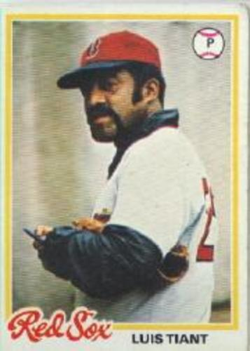 Photo of 1978 Topps #345 Luis Tiant