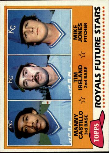 Photo of 1981 Topps #66 Manny Castillo RC/Tim Ireland RC/Mike Jones RC