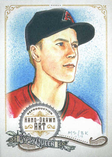 Photo of 2017 Topps Gypsy Queen Hand Drawn Art Reproductions #GQARZG1 Zack Greinke
