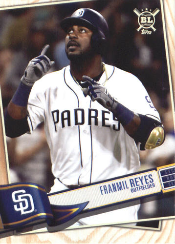 Photo of 2019 Topps Big League #194 Franmil Reyes