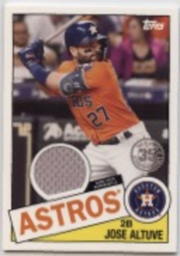 Photo of 2020 Topps '85 Topps Relics #85TRJA Jose Altuve