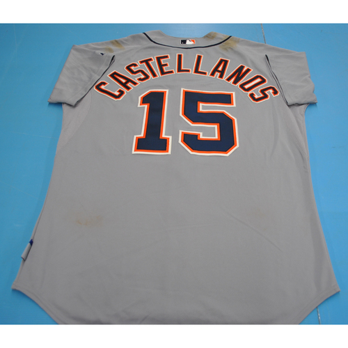 Game-Used Jersey - 2012 Arizona Fall League - Nick Castellanos